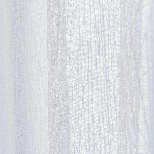 Vitrage jacquard met plooiband 400cm x 250cm